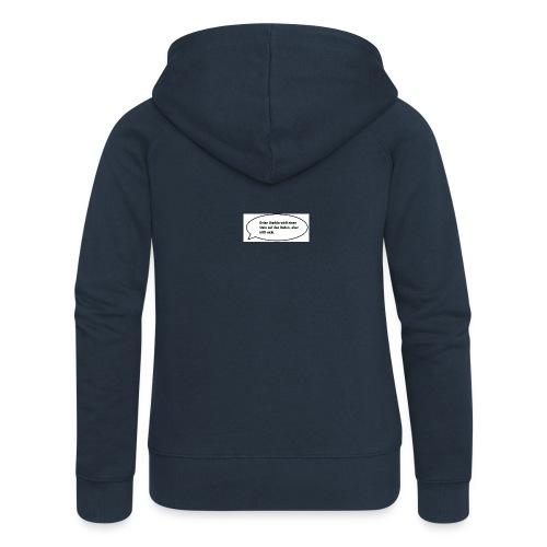 deine-mutter-witze-0 - Women's Premium Hooded Jacket