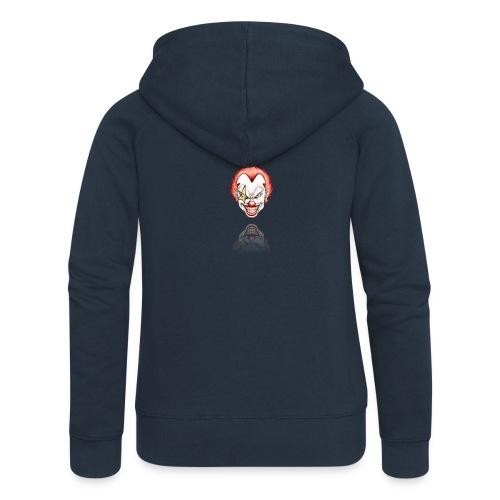 clown-png - Vrouwenjack met capuchon Premium