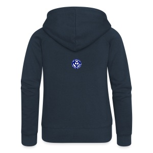 THIS IS THE BLUE CNH LOGO - Women's Premium Hooded Jacket