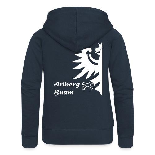 Arlbergbuam 3 - Frauen Premium Kapuzenjacke
