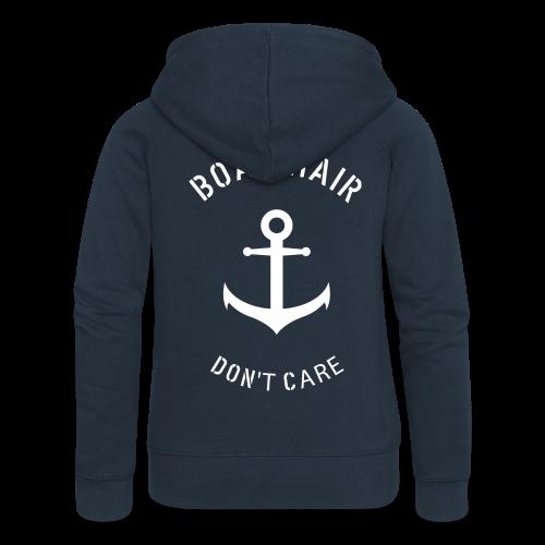Boat Hair Dont Care - Anker - Frauen Premium Kapuzenjacke