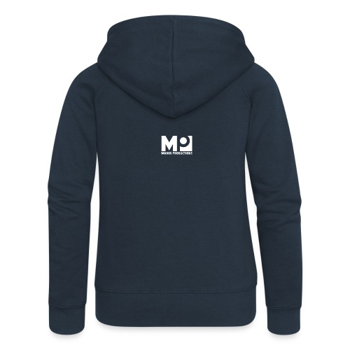 ManigProductions White Transparent png - Women's Premium Hooded Jacket