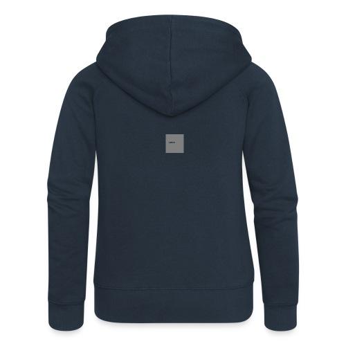 Logo-png - Rozpinana bluza damska z kapturem Premium