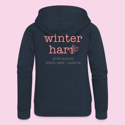 winterhart - Frauen Premium Kapuzenjacke