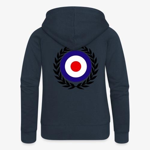 target mod laurel design lady hood - Women's Premium Hooded Jacket