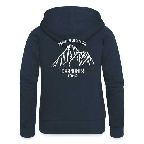 Chamonix France - Women's Premium Hooded Jacket