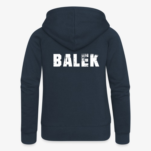 BALEK - Veste à capuche Premium Femme