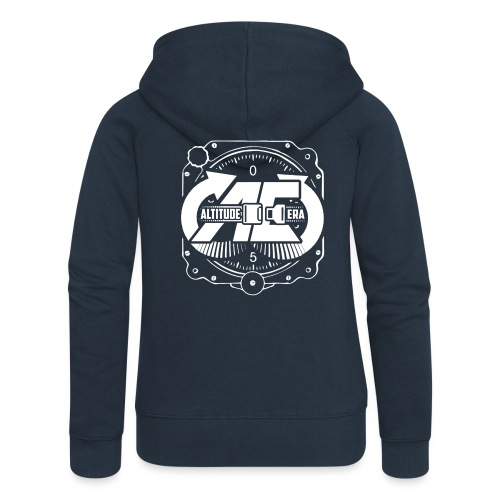 Altitude Era Altimeter Logo - Women's Premium Hooded Jacket
