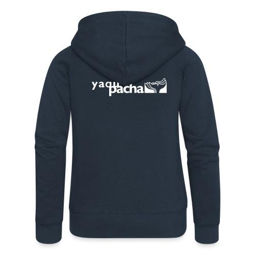 yaqupacha logo vektor - Frauen Premium Kapuzenjacke