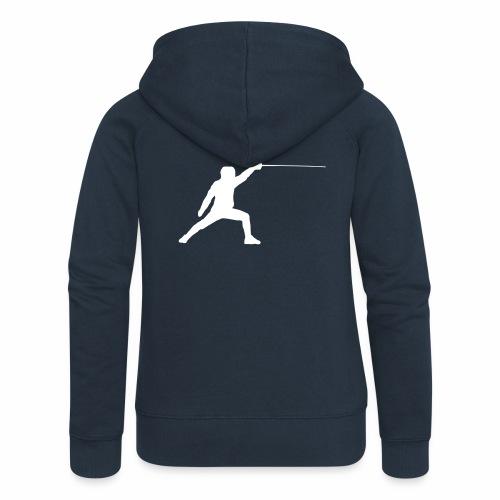 Fencer - Frauen Premium Kapuzenjacke