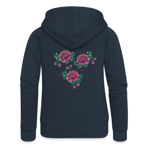 Peony - Dam - Women's Premium Hooded Jacket