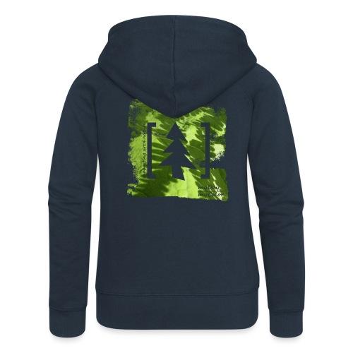 art.4.nature #JederBaum - Frauen Premium Kapuzenjacke
