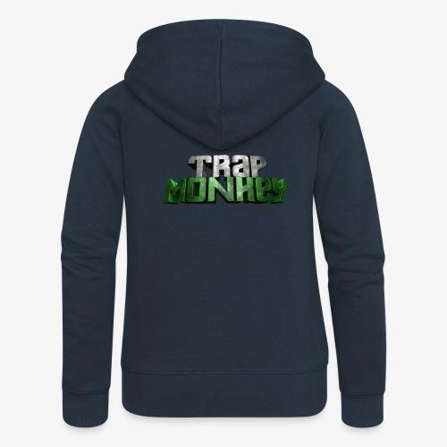 Trap Monkey 2 - Veste à capuche Premium Femme