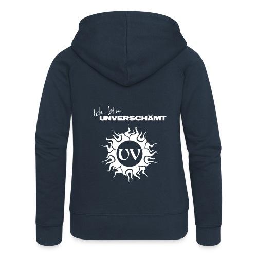 Ich bin UNVERSCHÄMT inkl Logo - Frauen Premium Kapuzenjacke