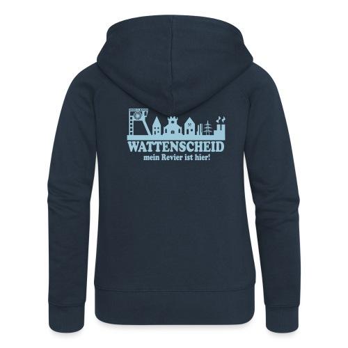 Skyline Wattenscheid - Mein Revier ist hier - Frauen Premium Kapuzenjacke