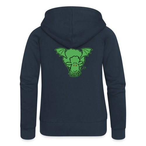 Cthulhu Sheep - Women's Premium Hooded Jacket
