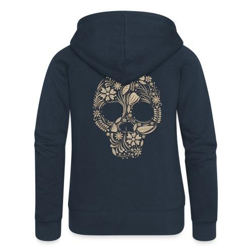Skull - Chaqueta con capucha premium mujer