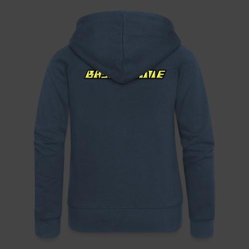 Bassphemie - Neongelb - Frauen Premium Kapuzenjacke