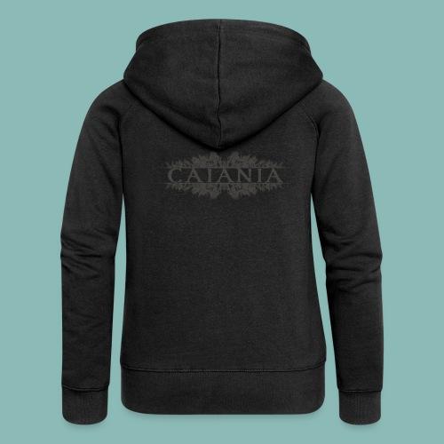 Caiania-logo harmaa - Naisten Girlie svetaritakki premium
