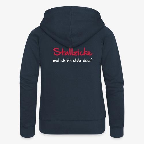 Vorschau: Stallzicke - Frauen Premium Kapuzenjacke