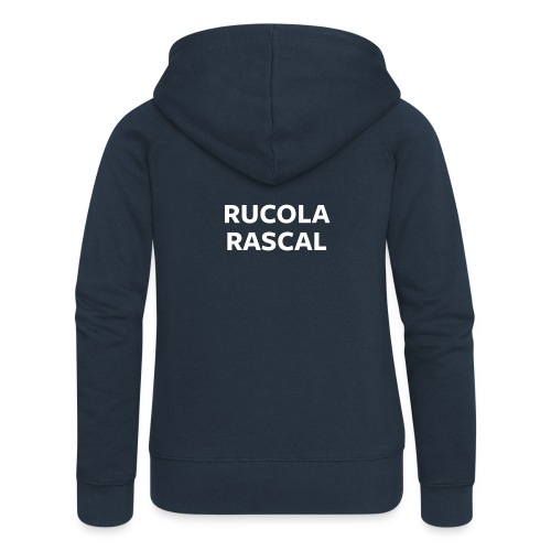 Rucola Rascal Night Mode - Women's Premium Hooded Jacket