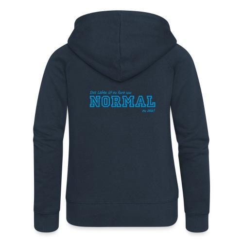 NORMAL - Frauen Premium Kapuzenjacke