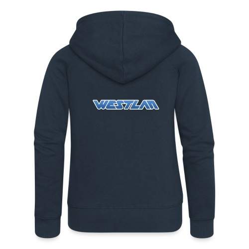 WestLAN Logo - Women's Premium Hooded Jacket