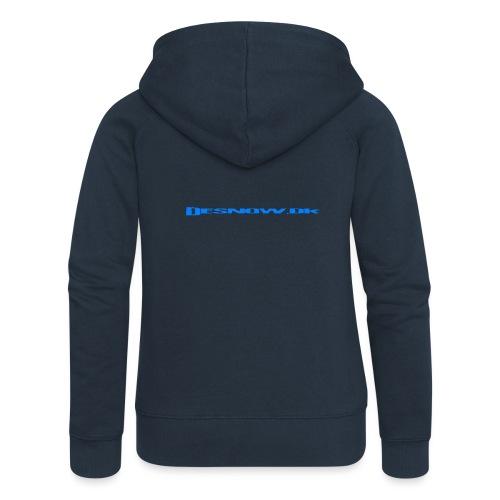Desnow blue - Dame Premium hættejakke