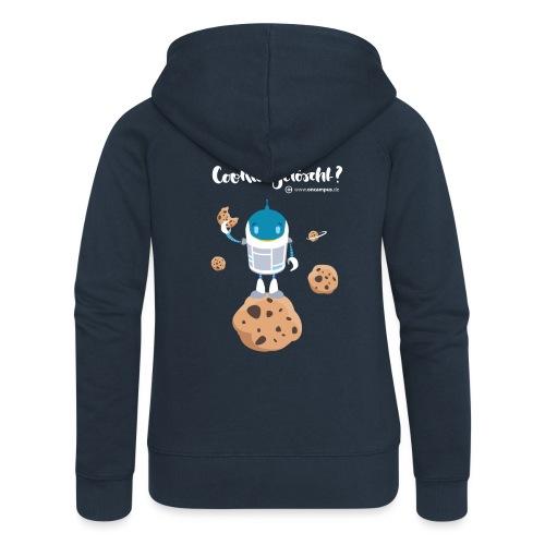Cookies gelöscht - Frauen Premium Kapuzenjacke