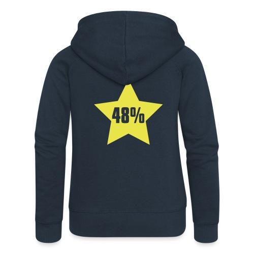 48% in Star - Women's Premium Hooded Jacket