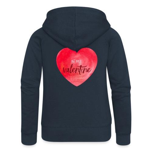 Cœur st.valentin - Veste à capuche Premium Femme