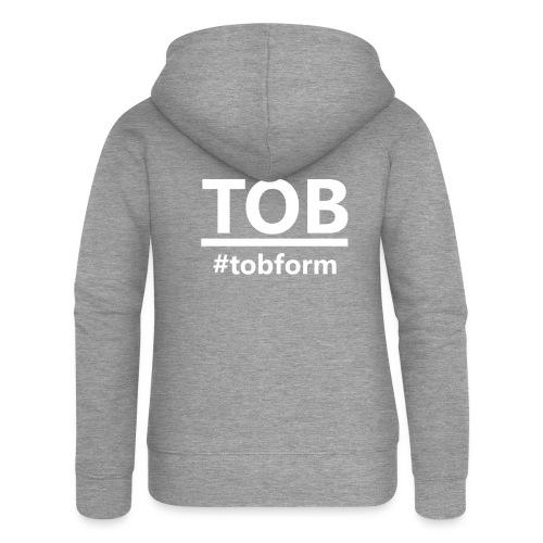 #tobform T-Shirt - Frauen Premium Kapuzenjacke