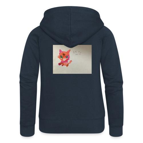 Little pet shop fox cat - Women's Premium Hooded Jacket