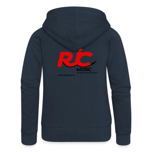 RJC Music avec site - Veste à capuche Premium Femme