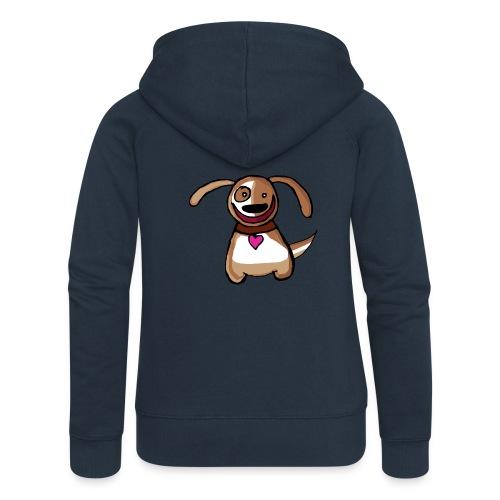 Titou le chien - Veste à capuche Premium Femme