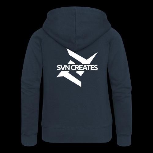 SVN Shirt logo 1 png - Vrouwenjack met capuchon Premium