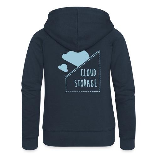 Cloud Storage - Frauen Premium Kapuzenjacke