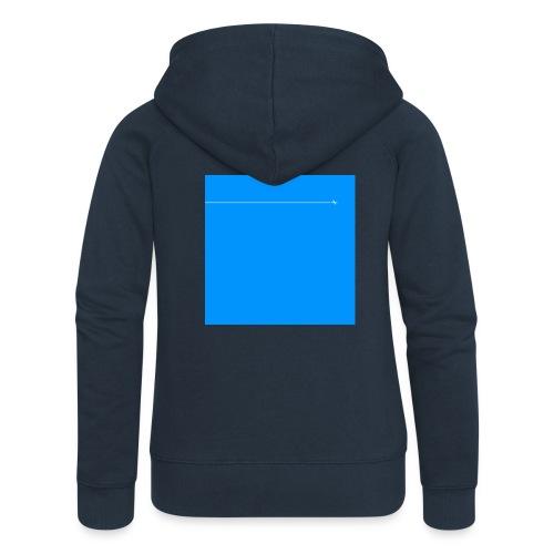sklyline blue version - Veste à capuche Premium Femme