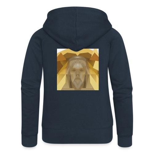 In awe of Jesus - Women's Premium Hooded Jacket