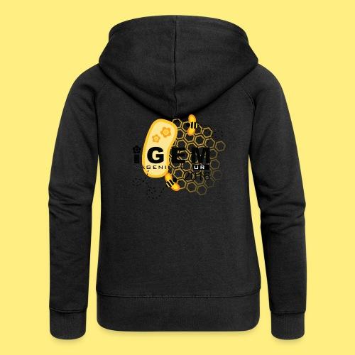 Logo - mug - Vrouwenjack met capuchon Premium