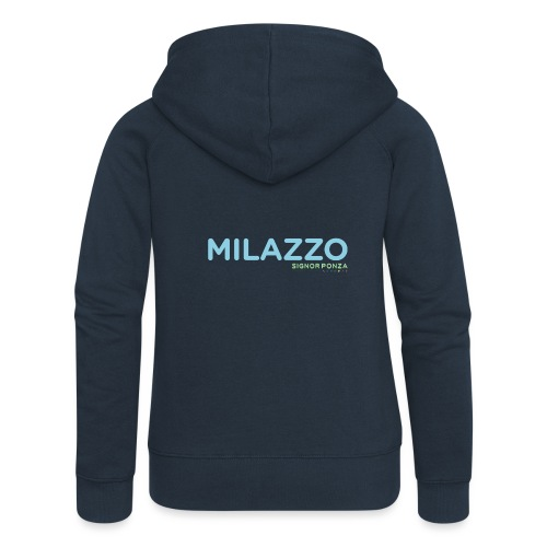 MILAZZO - Felpa con zip premium da donna