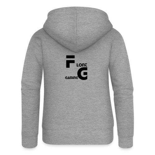 Flont Gaming merchandise - Vrouwenjack met capuchon Premium