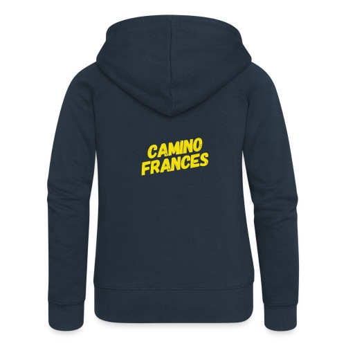 Camino Frances - Frauen Premium Kapuzenjacke