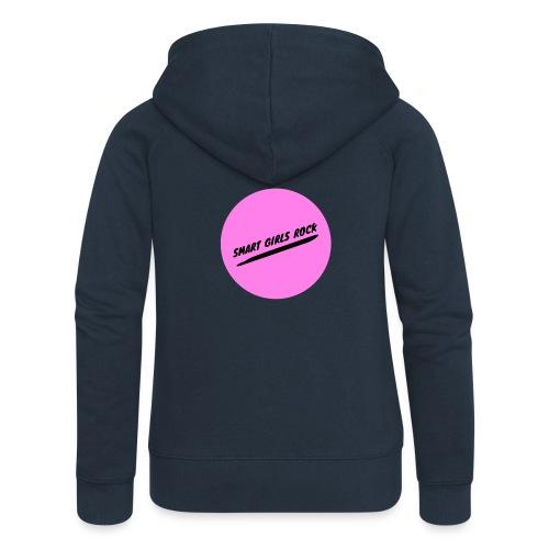 Smart Girls Rock - Frauen Premium Kapuzenjacke