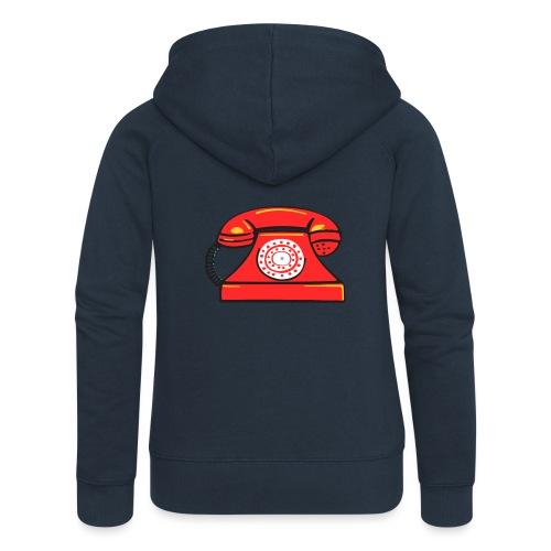 PhoneRED - Women's Premium Hooded Jacket