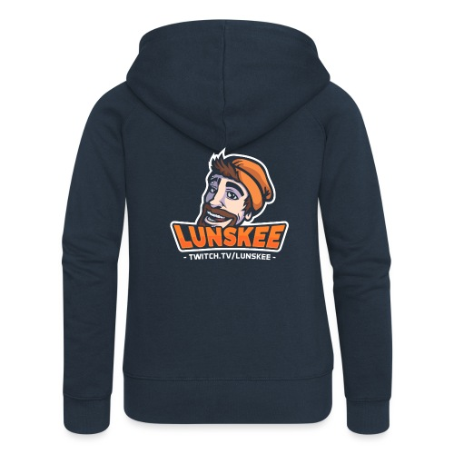 Lunskee Mascot Logo - Vrouwenjack met capuchon Premium