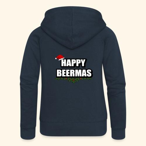 HAPPY BEERMAS AYHT - Women's Premium Hooded Jacket