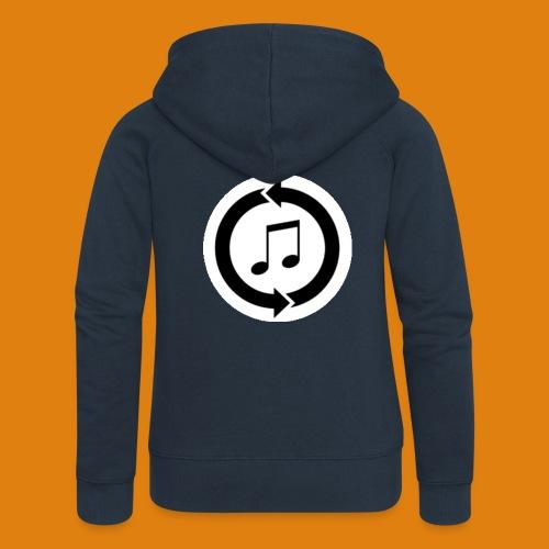 music, renew music, music, t-shirt music - Women's Premium Hooded Jacket