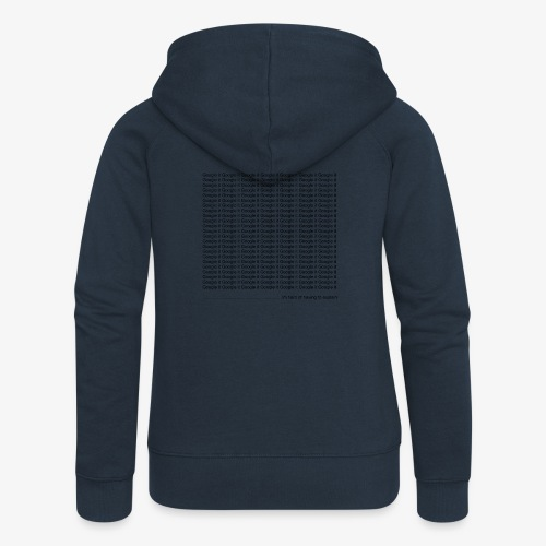 google - Rozpinana bluza damska z kapturem Premium
