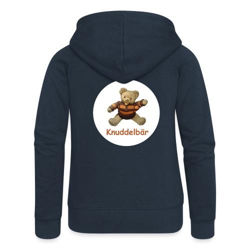 Teddybär Knuddelbär Schmusebär Teddy orange braun - Frauen Premium Kapuzenjacke